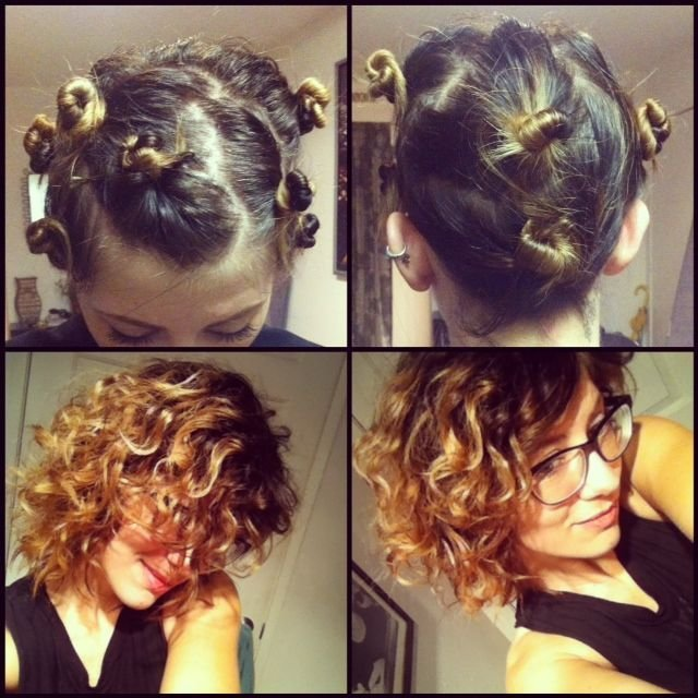 how to get curly hair
